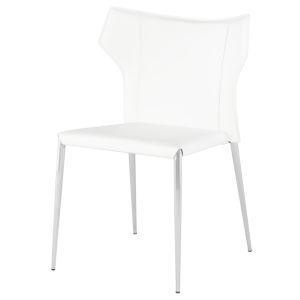 Wayne Matte White Dining Chair