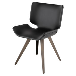 Astra Matte Black Dining Chair
