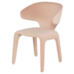 Bandi Peach Dining Chair