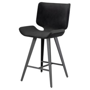 Astra Black Counter Stool
