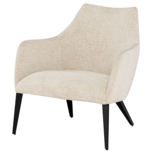 Renee Beige and Black Occasional Chair