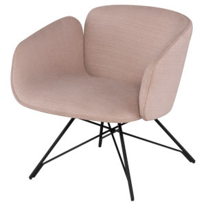 Doppio Mauve and Black Occasional Chair