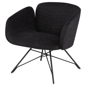 Doppio Coal Occasional Chair