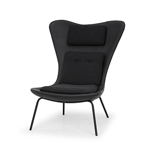 Barlow Matte Black Chair