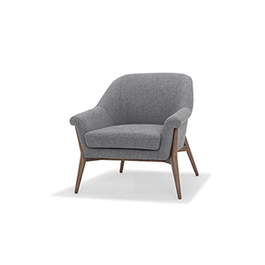 Charlize Matte Shale Grey Chair