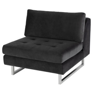 Janis Shadow Gray Sofa Extension