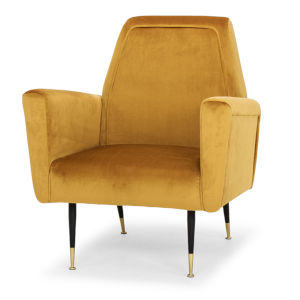 Victor Mustard Occasional Chair