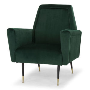 Victor Emerald Green Occasional Chair