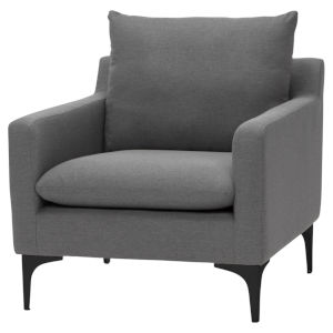 Anders Slate Gray Occasional Chair