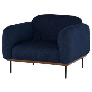 Benson Blue Occasional Chair