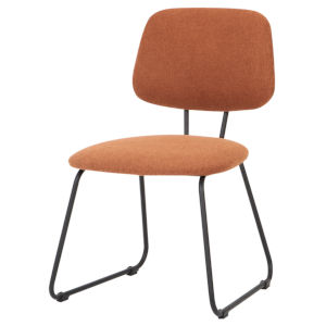 Ofelia Red and Black Dining Chair