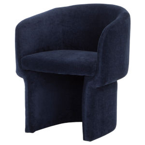 Clementine Navy Blue Dining Chair