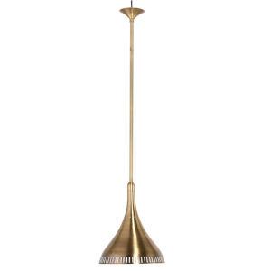 Lise Brushed Brass One-Light Pendant