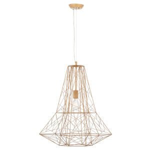 Apollo Matte Gold One-Light Pendant