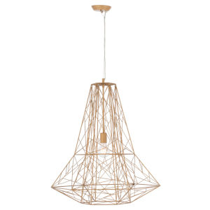 Apollo Brushed Gold One-Light Pendant