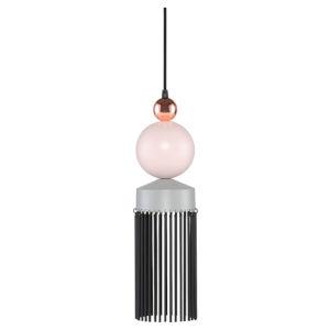 Fabiola Beige and Black LED Mini Pendant