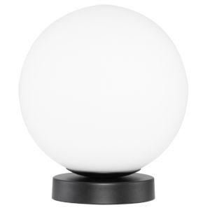 Felipa Matte Black and White One-Light Table Lamp