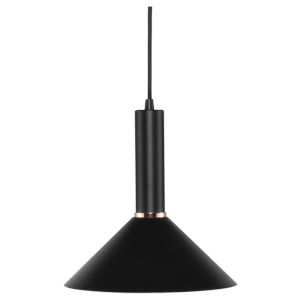 Simona Matte Black One-Light Pendant