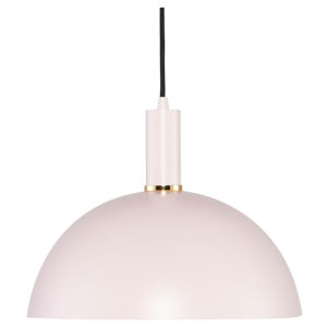 Rosie Maxi Blush and Black One-Light Pendant