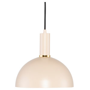 Rosie Mini Beige One-Light Pendant