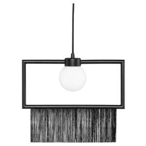 Rio Matte Black One-Light Pendant