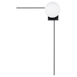 Alina Black and White 34-Inch One-Light Wall Sconce