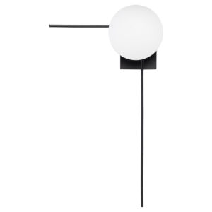 Alina Black and White 27-Inch One-Light Wall Sconce