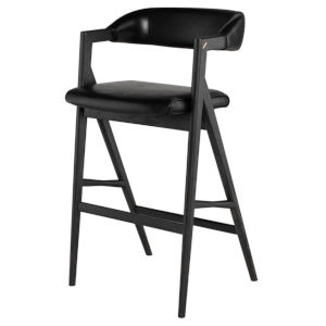 Anita Black Bar Stool