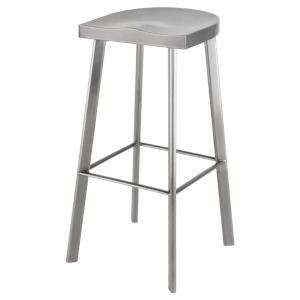 Icon Graphite Bar Stool