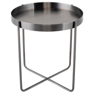 Gaultier Graphite Side Table
