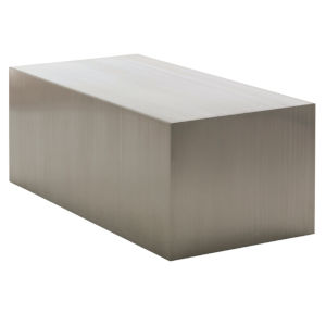 Tucson Brushed Silver Coffee Table