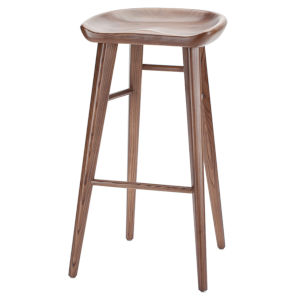 Kami Walnut Bar Stool