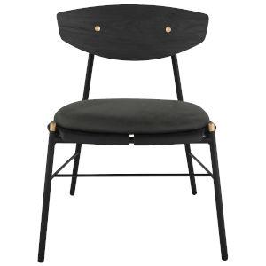 Kink Storm Black Dining Chair