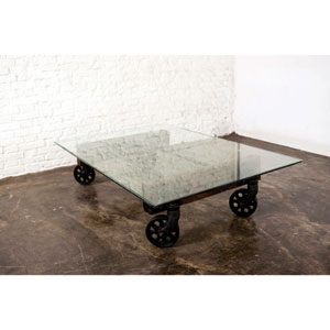 V35 Clear Coffee Table