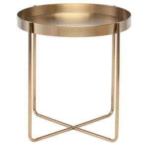 Gaultier Gold Side Table