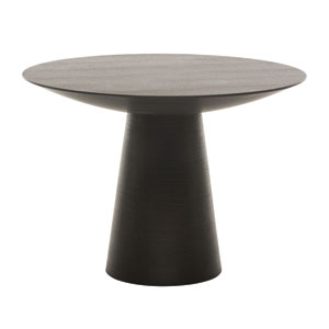 Dania Black 61-Inch Dining Table