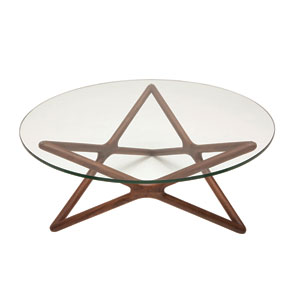 Star Clear Coffee Table
