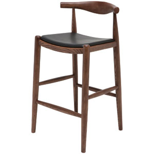 Maja Walnut Counter Stool