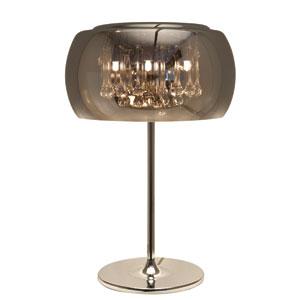 Alain Chrome Four-Light Table Lamp