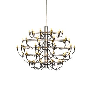Medusa Black Large Chandelier
