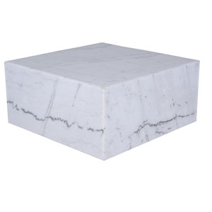 Matisse Matte White Coffee Table
