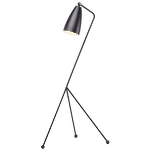 Lucille Black One-Light Floor Lamp