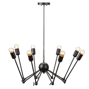 Rebecca Black Eight-Light Pendant