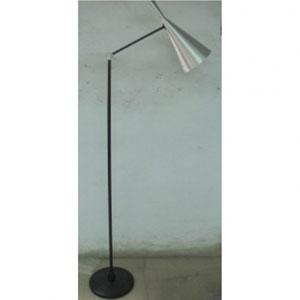 Lloyd Silver One-Light Floor Lamp