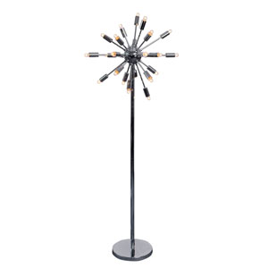 Sputnik Chrome 24-Light Floor Lamp