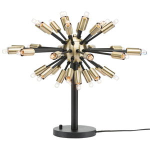 Vladimir Black 36-Light Accent Lamp