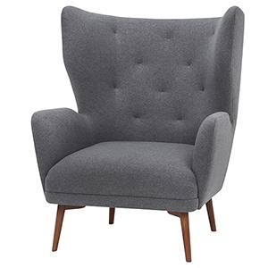 Klara Shale Grey Armchair