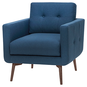 Ingrid Lagoon Blue Armchair