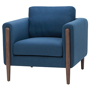 Steen Lagoon Blue Armchair