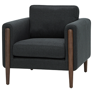 Steen Steel Grey Armchair